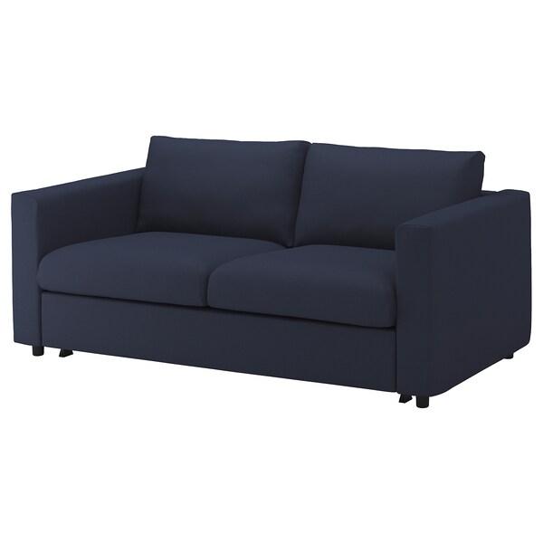 Ikea Materasso Divano Letto.Vimle Divano Letto A 2 Posti Orrsta Blu Nero Ikea