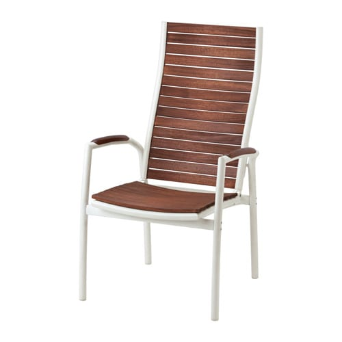 Vindals sedia reclinabile da giardino ikea for Sedia a dondolo reclinabile