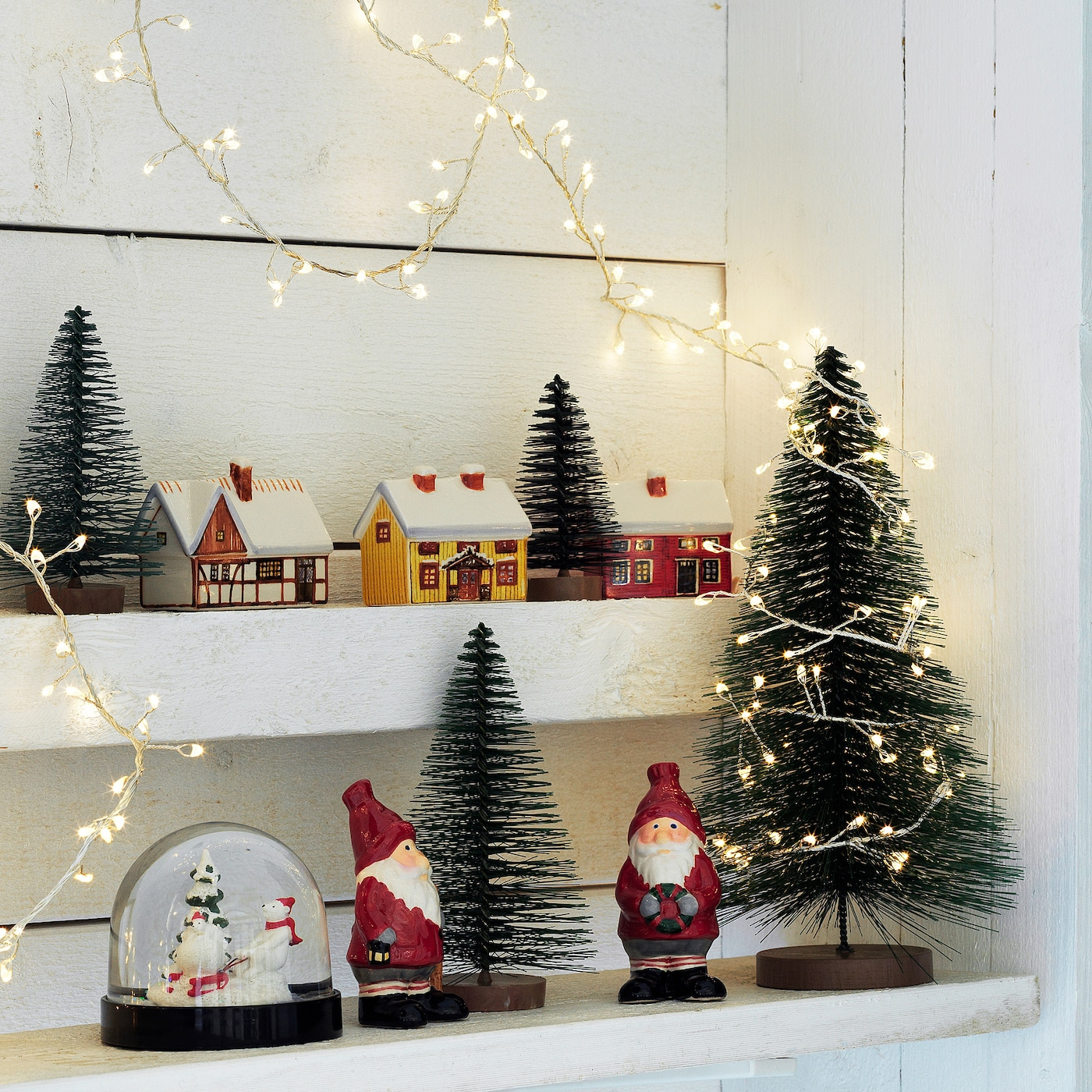 Foto Di Decorazioni Di Natale.Vinter 2020 Set Di 3 Decorazioni Albero Di Natale Verde Ikea It
