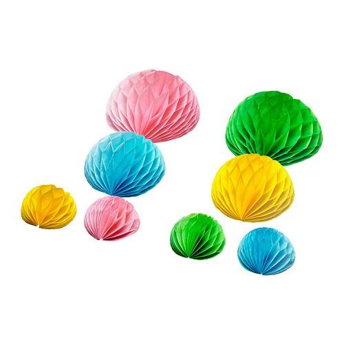 Vision r set di 8 decorazioni per regali ikea for Ikea decorazioni