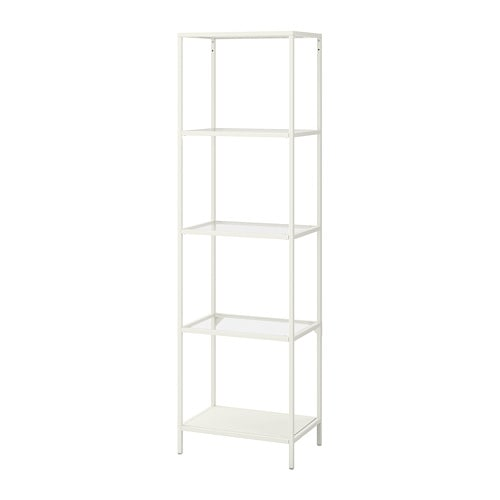 vittsj scaffale bianco vetro ikea. Black Bedroom Furniture Sets. Home Design Ideas