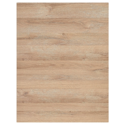 VOXTORP Rivestimento laterale, effetto rovere, 62x80 cm