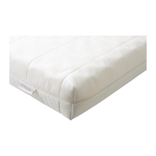 VYSSA SNOSA Materasso per letto allungabile , bianco Lunghezza: 200 cm Spessore: 10 cm Larghezza: 80 cm