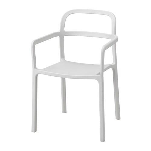 Ypperlig sedia con braccioli interno esterno ikea for Sedie sala attesa ikea