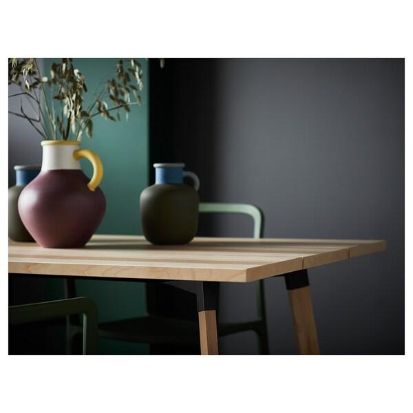 YPPERLIG Tavolo, frassino, 200x90 cm