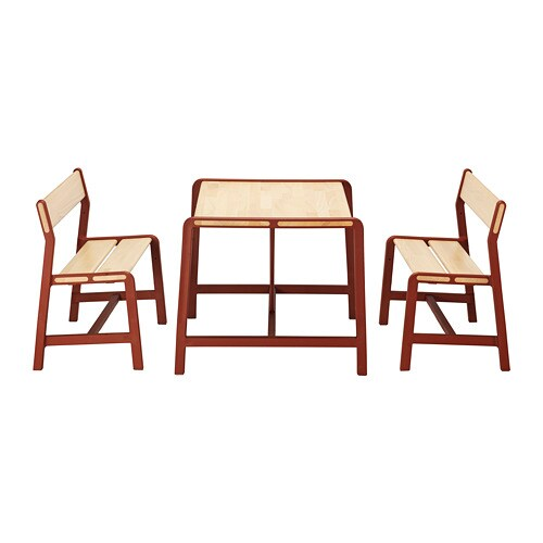Ypperlig tavolo per bambini con 2 panche ikea - Mobili per bambini ikea ...