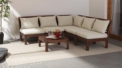 Combinazioni di divani da giardino