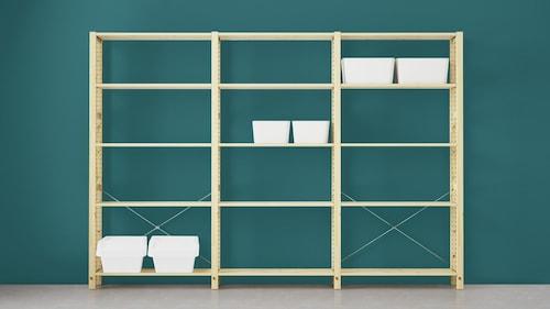Sistema di scaffali componibile