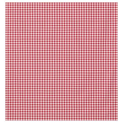 BERTA RUTA قماش مربعات متوسطة/أحمر 220 g/m² 150 سم 3 سم 1.50 م²