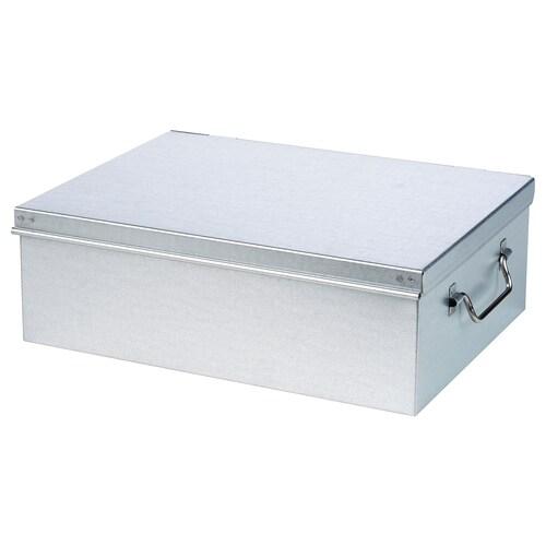 BORSTAD صندوق معدني 28 سم 21 سم 9 سم