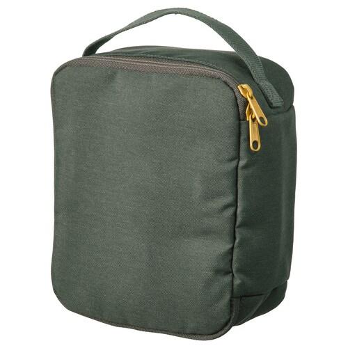 DRÖMSÄCK حقيبة عناية أخضر زيتوني 4 ل