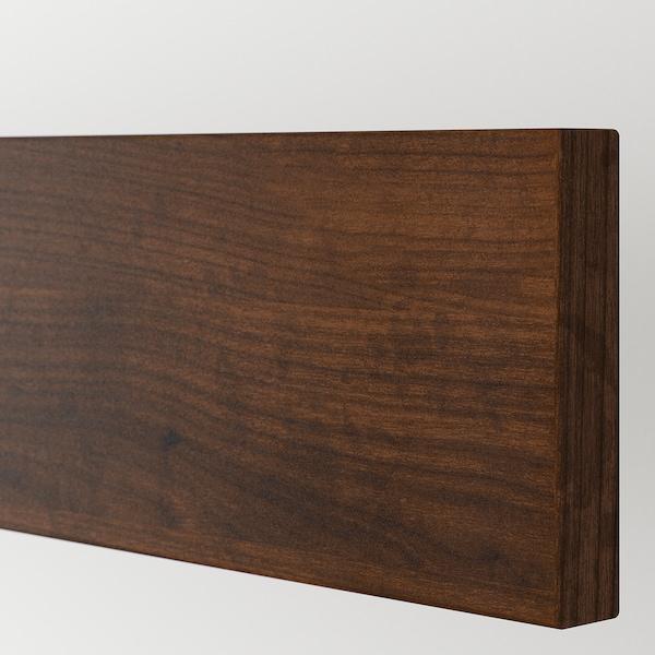 EDSERUM واجهة دُرج مظهر الخشب بني 39.7 سم 10 سم 40 سم 9.7 سم 1.8 سم 2 قطعة