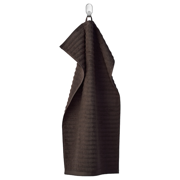 FLODALEN منشفة يد بني غامق 700 g/m² 70 سم 40 سم 0.28 م²