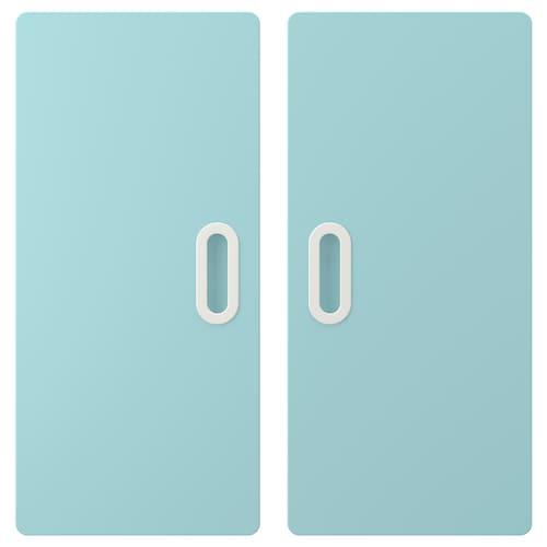 FRITIDS باب أزرق فاتح 60.0 سم 64.0 سم 2 قطعة