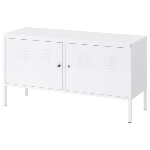 IKEA PS خزانة أبيض 119 سم 40 سم 63 سم 60 كلغ 20 كلغ