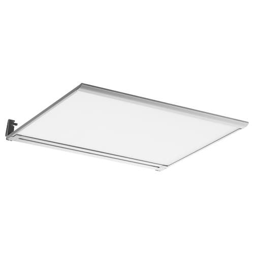IRSTA إضاءة سطح عمل LED أبيض أوبال 300 lm 40 سم 37 سم 8 مم 3.5 م 4.5 واط