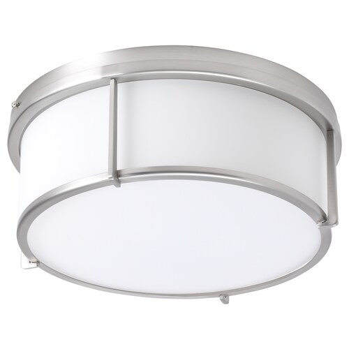 KATTARP مصباح سقف زجاج طلاء - نيكل 13 واط 13 سم 33 سم
