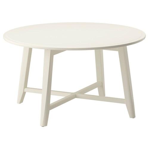 KRAGSTA طاولة قهوة أبيض 48 سم 90 سم