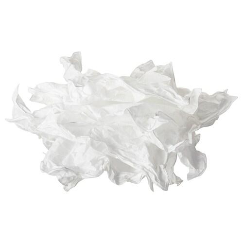 KRUSNING غطاء مصباح معلق أبيض 43 سم 43 سم