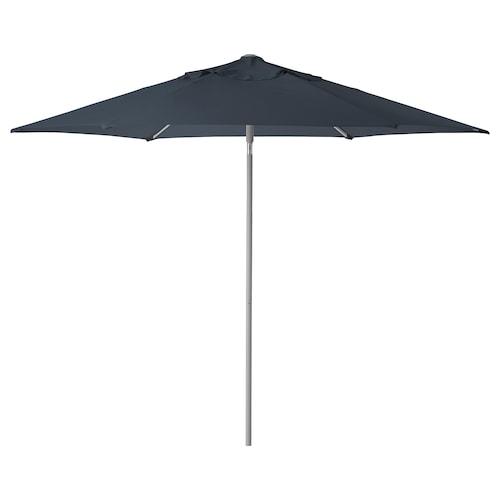 KUGGÖ / LINDÖJA مظلة أزرق 180 g/m² 240 سم 300 سم 38 مم