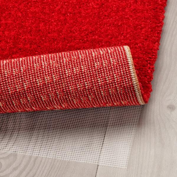 LANGSTED سجاد، وبر قصير أحمر 195 سم 133 سم 13 مم 2.59 م² 2500 g/m² 1030 g/m² 9 مم