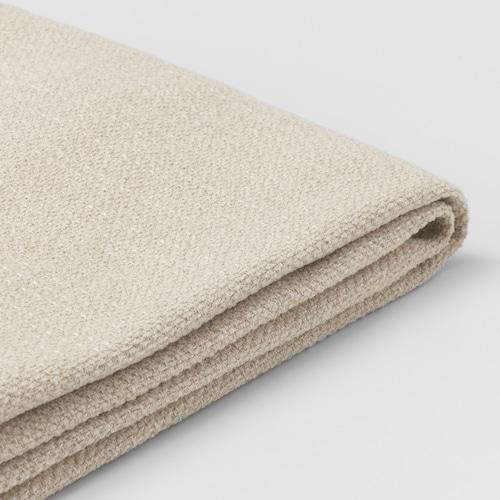 LIDHULT غطاء قسم كنبة-سرير بمقعدين Gassebol بيج فاتح