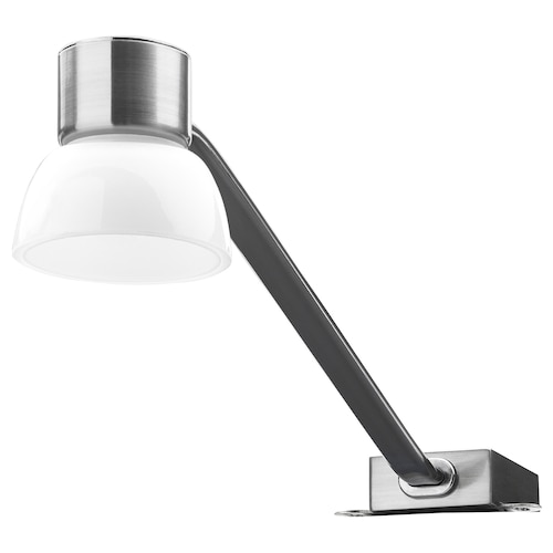 LINDSHULT إضاءة خزانة LED طلاء - نيكل 80 lm 34.5 سم 7.4 سم 11 سم 3.5 م 2 واط