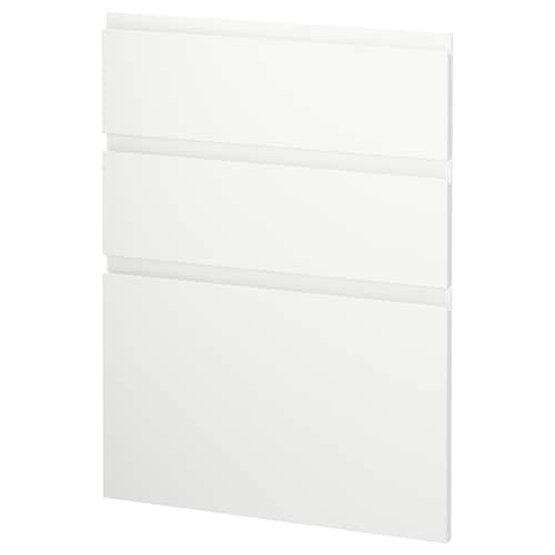 METOD 3 واجهات لغسالة صحون Voxtorp أبيض مطفي 60.0 سم 88.0 سم 80.0 سم 2.2 سم
