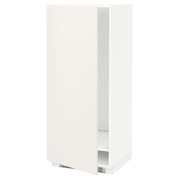 METOD خزانة مرتفعة للثلاجة/الفريزر أبيض/Veddinge أبيض 60.0 سم 61.6 سم 148.0 سم 60.0 سم 140.0 سم