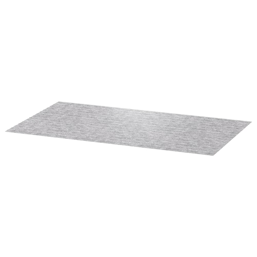 PASSARP لبادة دُرج رمادي 96 سم 50 سم 0.48 م²