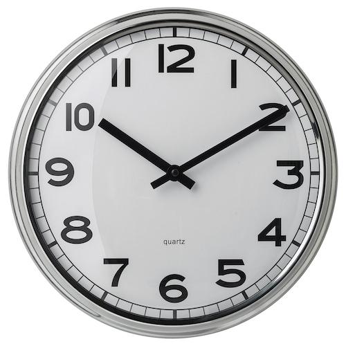 PUGG ساعة حائط ستينلس ستيل 5 سم 32 سم