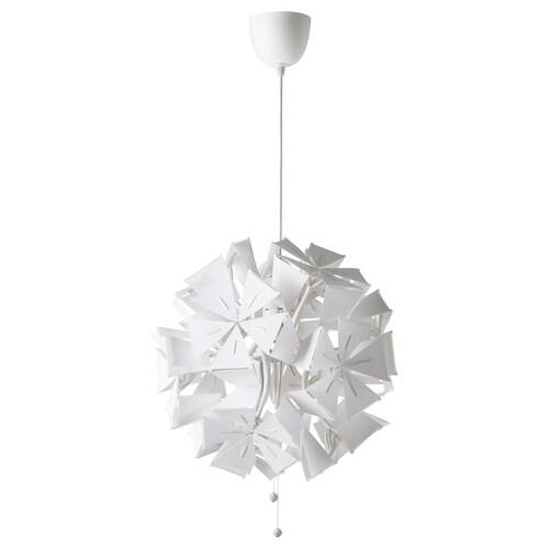 RAMSELE مصباح معلّق أشكال هندسية/أبيض 16 واط 52 سم 43 سم 1.4 م