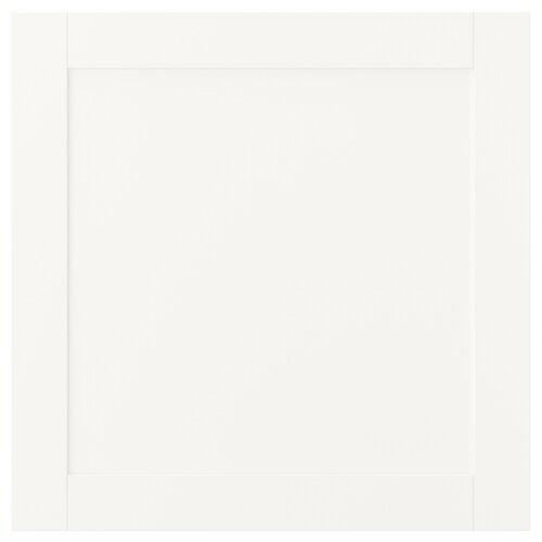 SANNIDAL باب بمفصلات أبيض 60 سم 60 سم