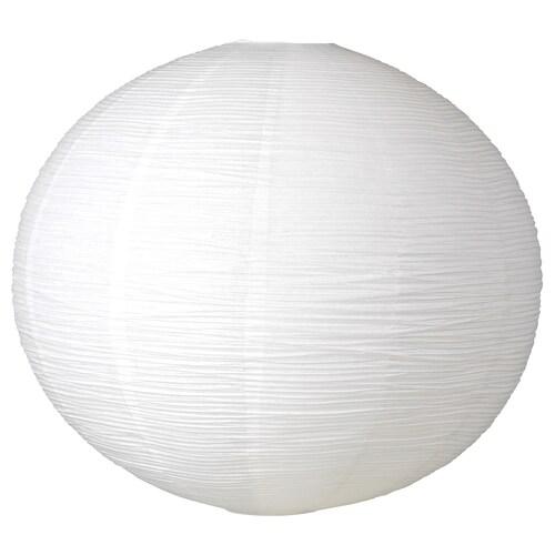 SJUTTIOFEM غطاء مصباح معلق أبيض/دائري 70 سم