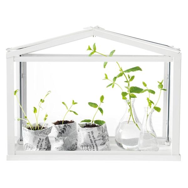SOCKER بيت نباتات أبيض 45 سم 22 سم 35 سم