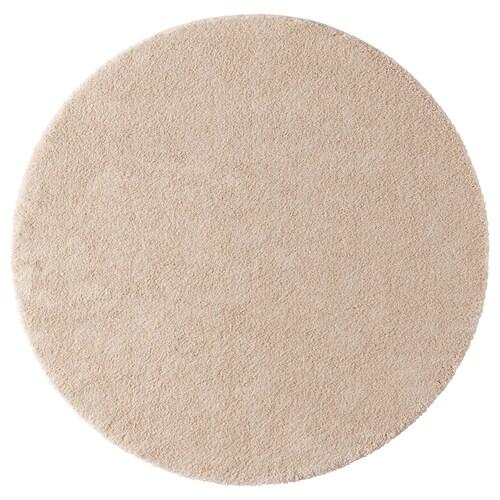 STOENSE سجاد، وبر قصير أبيض-عاجي 130 سم 18 مم 1.33 م² 2560 g/m² 1490 g/m² 15 مم
