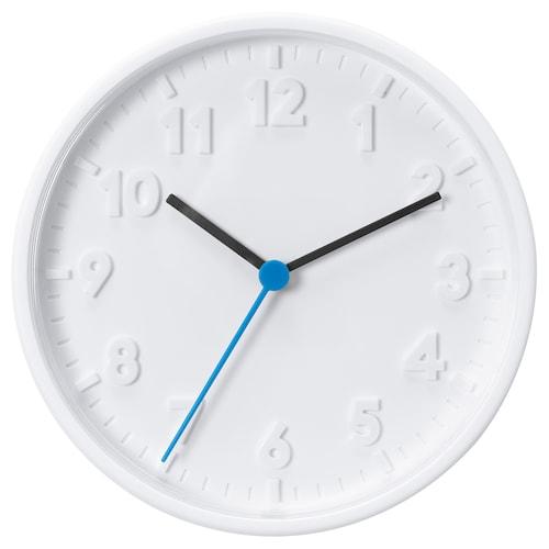 STOMMA ساعة حائط أبيض 20 سم 4 سم