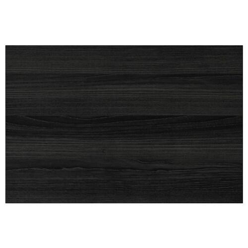 TINGSRYD واجهة دُرج مظهر الخشب أسود 59.7 سم 40 سم 60 سم 39.7 سم 1.6 سم