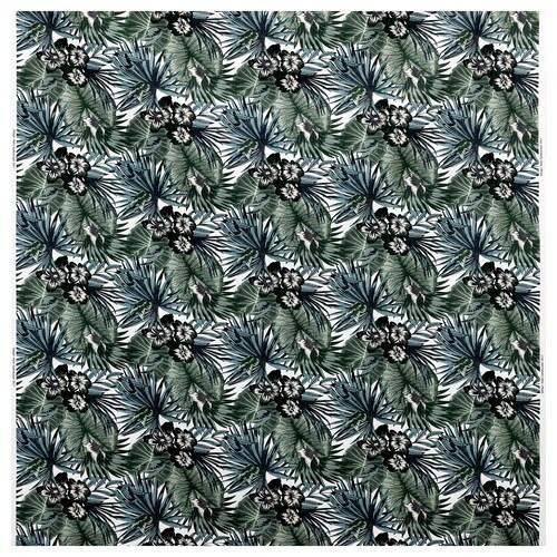 TORGERD قماش أبيض/أخضر 230 g/m² 150 سم
