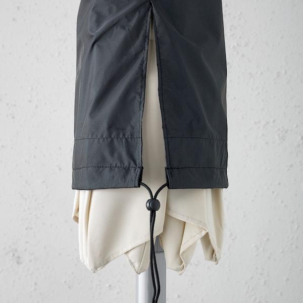 TOSTERÖ غطاء مظلة أسود 160 سم 19 سم 13 سم
