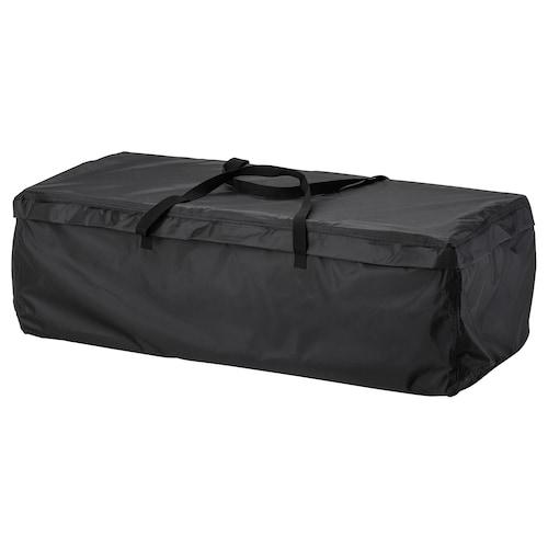 TOSTERÖ حقيبة تخزين للوسائد أسود 116 سم 49 سم 35 سم