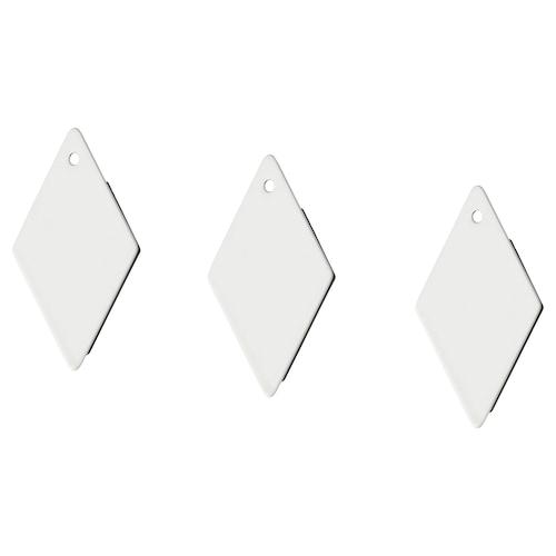 TOTEBO مغناطيس أبيض 3 قطعة 6 سم 4 سم