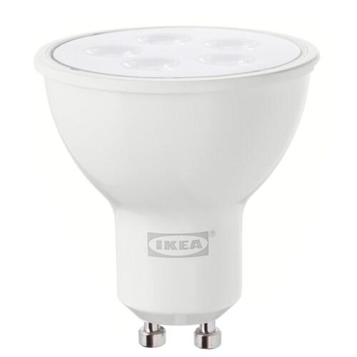 TRÅDFRI لمبة LED GU10 400 lumen قابل للخفت لاسلكي أبيض دافىء 400 lm 2700 كلفن