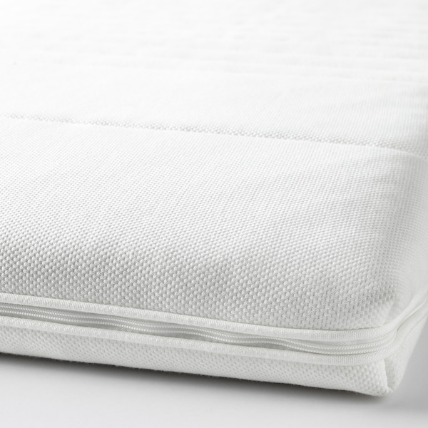 TUSSÖY لبادة مرتبة أبيض 200 سم 180 سم 8 سم