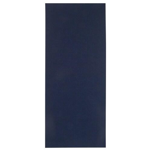 TYRSTED سجاد، غزل مسطح أزرق غامق 200 سم 80 سم 5 مم 1.60 م² 1200 g/m²