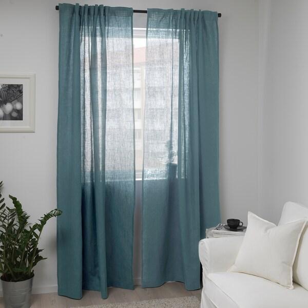 AINA قماش, أزرق- رمادي, 150 سم
