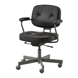 Office Chairs.Alefjall Office Chair Glose Black