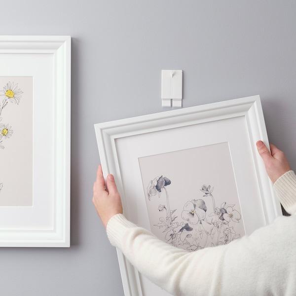 ALFTA Adhesive hook for frame, white