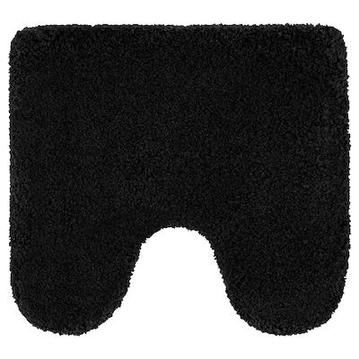 ALMTJÄRN Pedestal mat, dark grey, 55x60 cm