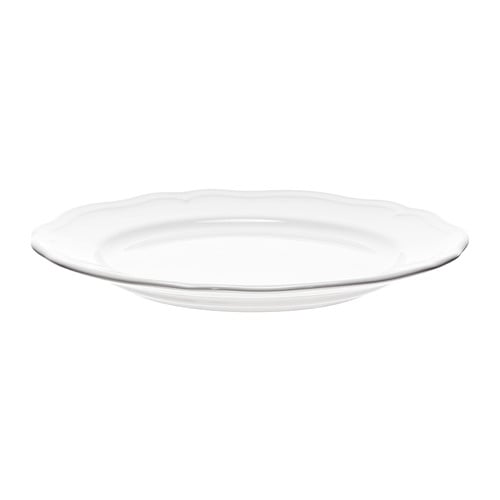 ARV Side plate   Dinnerware that combines a simple, rustic design with a soft ruffled edge.